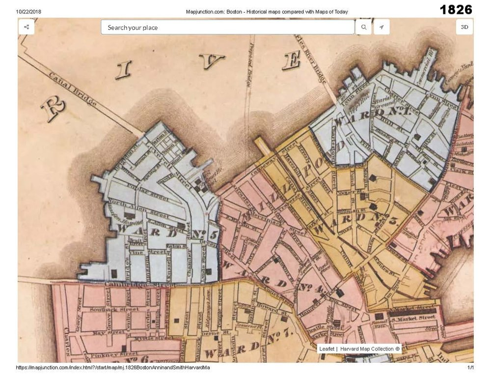 1826 historic map traces the development of cutillo park and morton street area