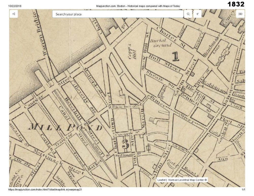 1832 historic map traces the development of cutillo park and morton street area