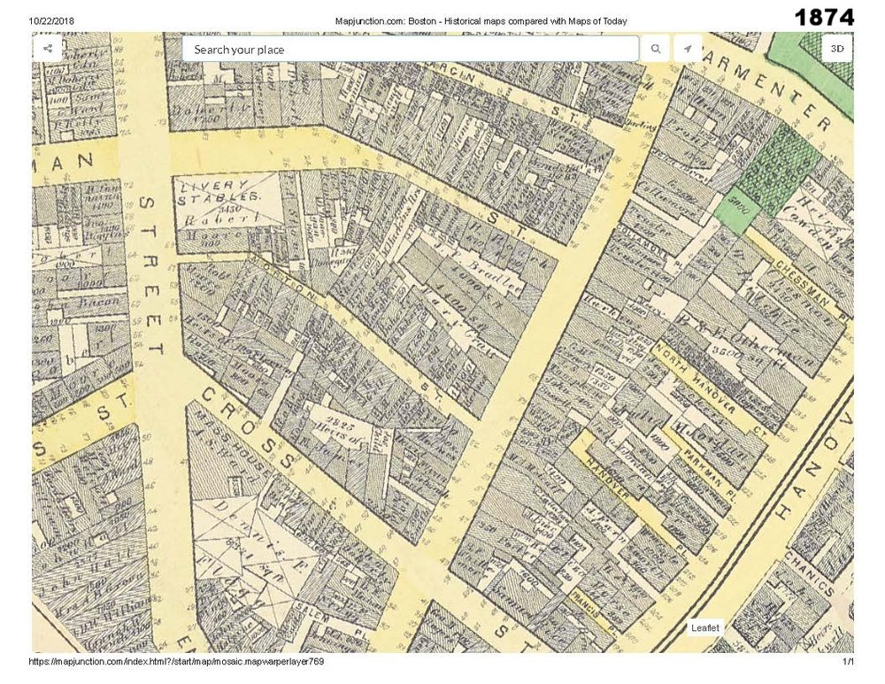 1874 historic map traces the development of cutillo park and morton street area