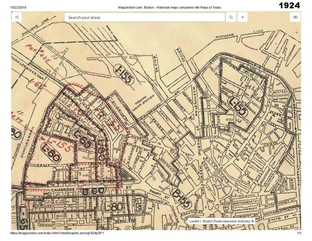 1924 historic map traces the development of cutillo park and morton street area
