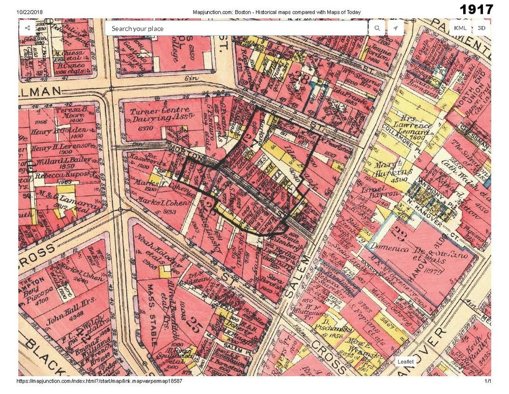 1917 historic map traces the development of cutillo park and morton street area