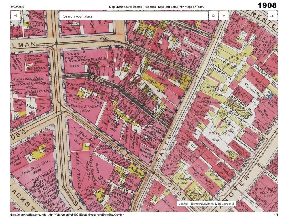 1908 historic map traces the development of cutillo park and morton street area