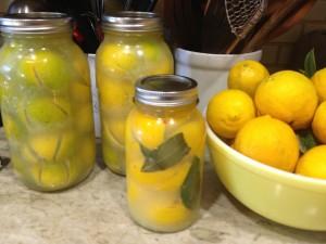Preserving lemons limes