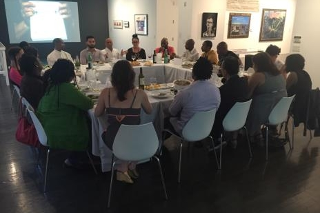 A SUPPER CLUB INVITES ARTISTS OF COLOR TO DISCUSS SANCTUARY AND SAFETY - Hyperallergic