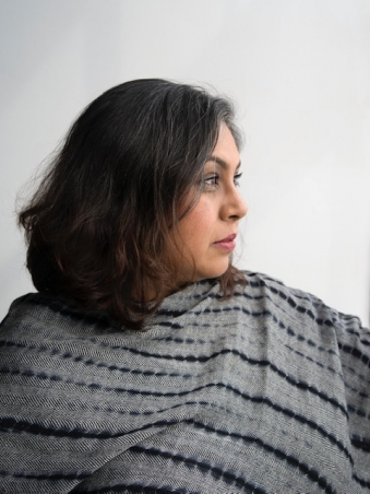 Aruna D'Souza. Photo credit: Dana Hoey.