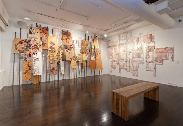 Elana Herzog,  Valence , 2014/2018. Installation view at The 8th Floor. Photograph by Julia Gillard.