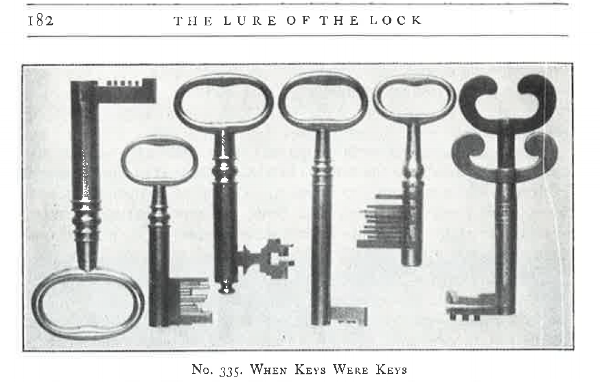 The Lure of the Lock , John M. Mossman Collection, the General Society of Mechanics and Tradesmen, page 182.