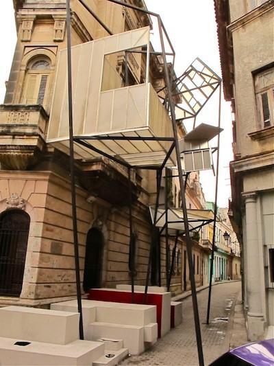 Ángela Ramírez,  No hay tal lugar (There is no such place) , 2012. From the XIth Havana Biennial. Photo: Marek Bartelik.