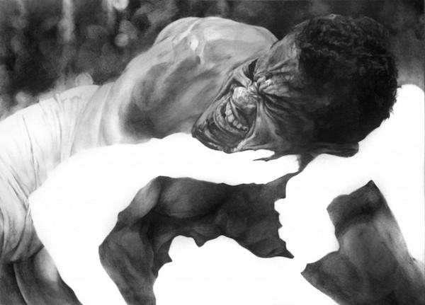 Shaun Leonardo,  Self-portrait (Arena 3) , 2014