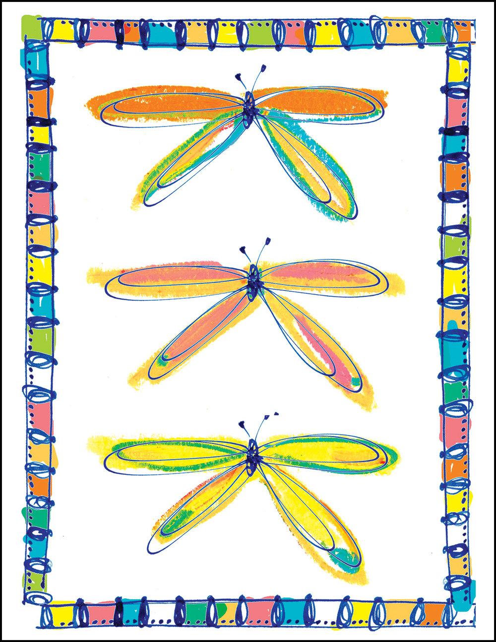 Butterflies and Dragonflies -