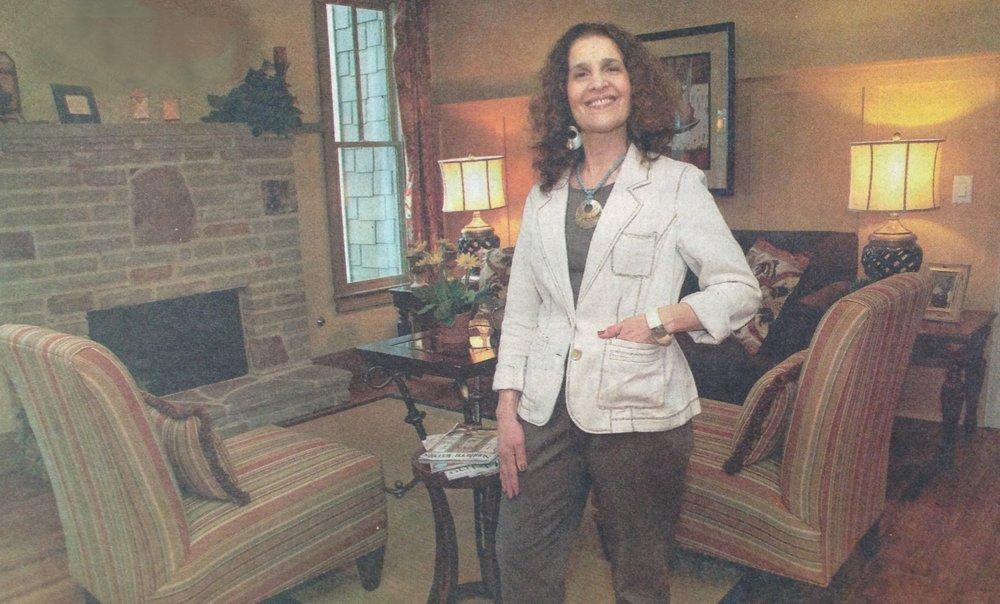 Roberta Grant, Feng Shui of Life in her Atlanta Area Home