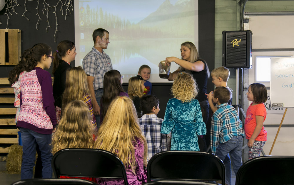 We are a family church for a reason - When you learn about God's promises, so do your kids!