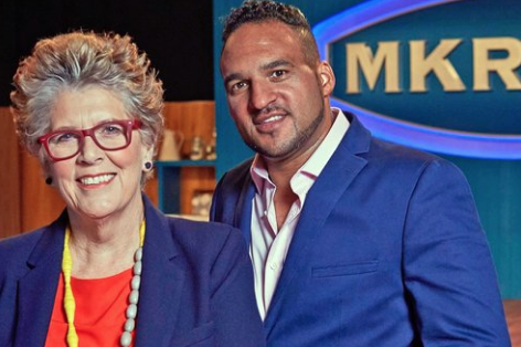 Prue Leith and Michael Caines