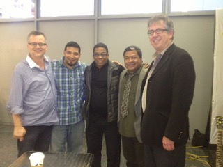 w/ Mike Allemana, Herbie Hancock, Ernie Adams and Dan Trudell