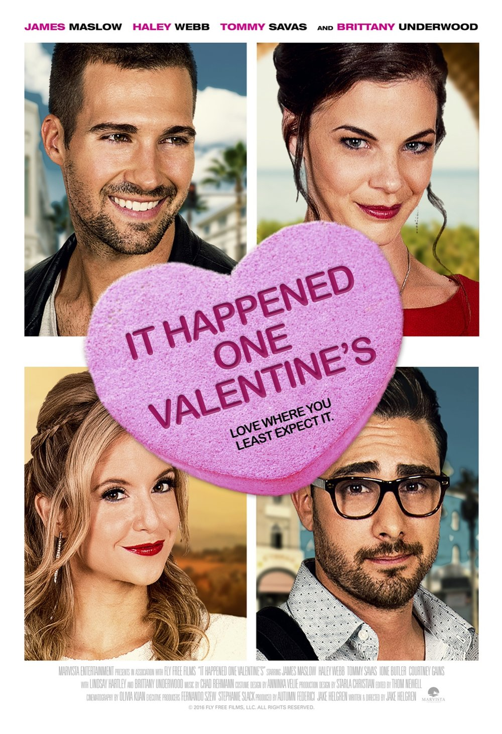 It Happened One Valentine's - Editor