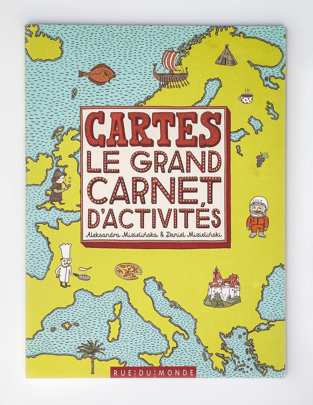 Cartes: le grand carnet d'activités