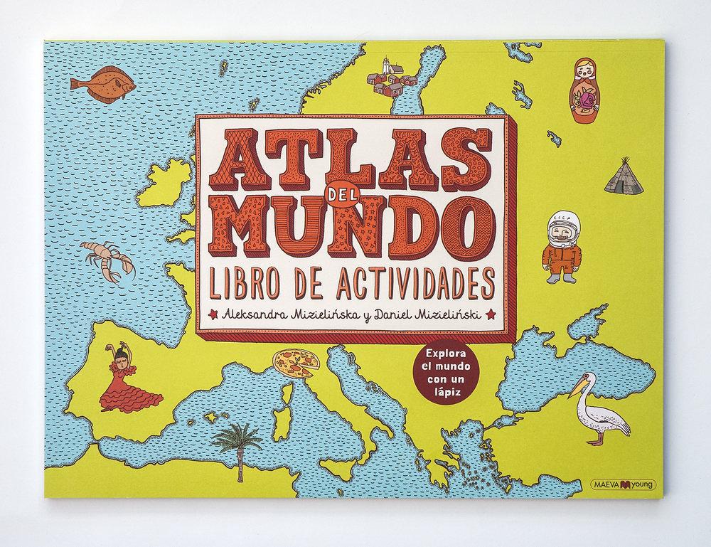 Atlas del Mundo, Libro de Actividades