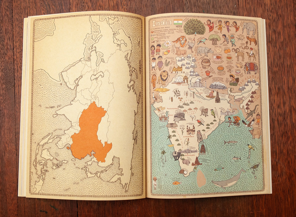 Maps Poster Book