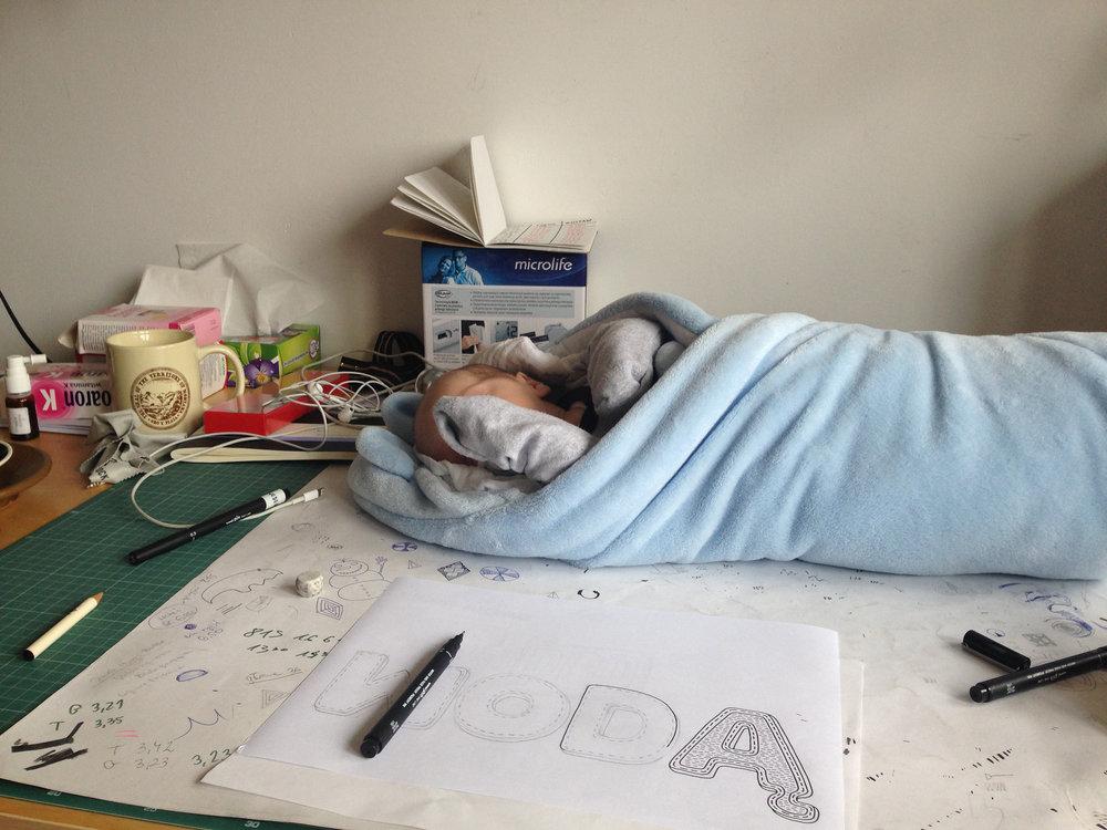 One letter per nap.