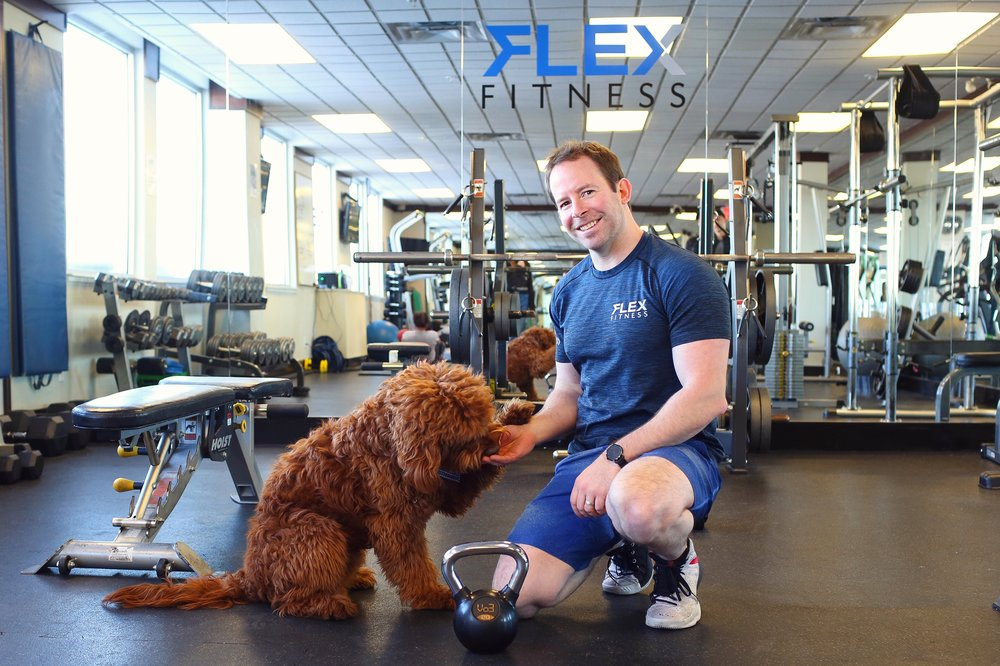 Pet friendly gym! - Human friendly as well . . .