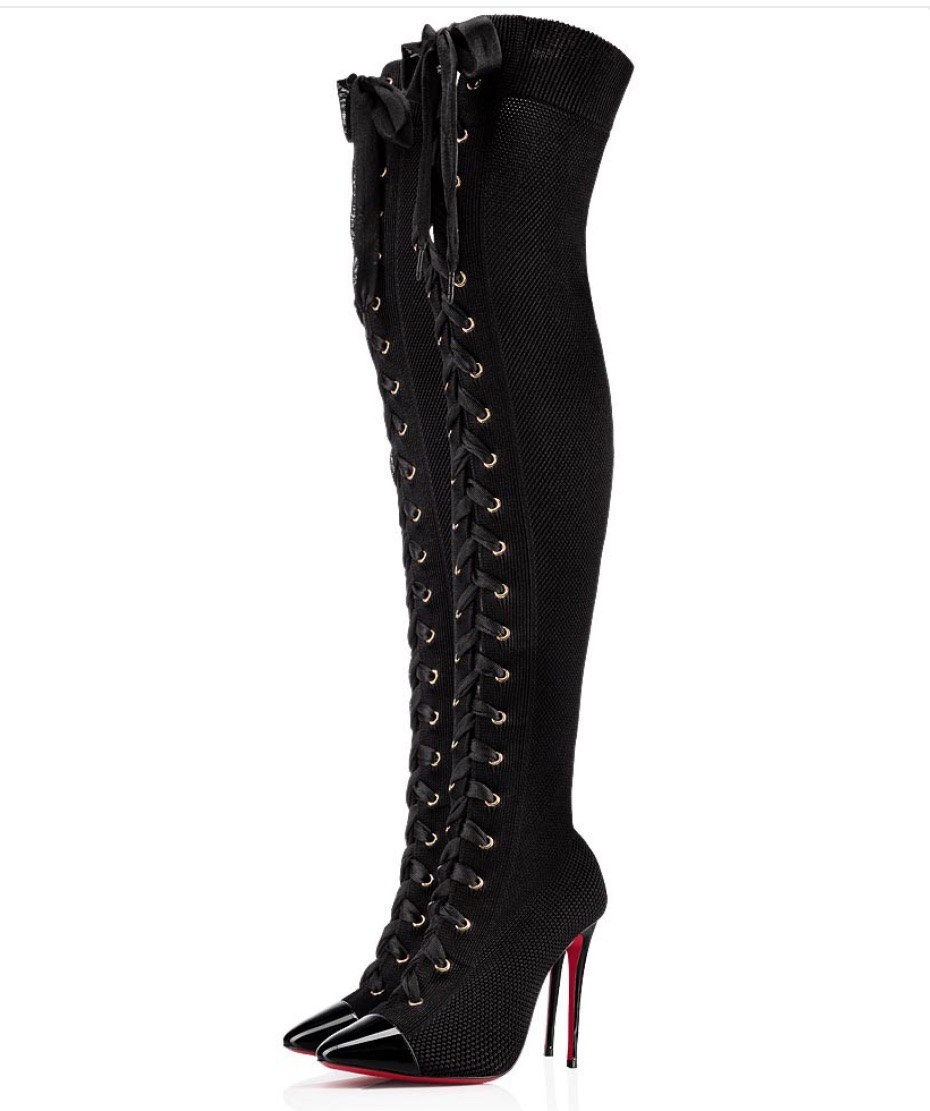 Christian Louboutin Frenchie Over the Knee Boots  $1,595