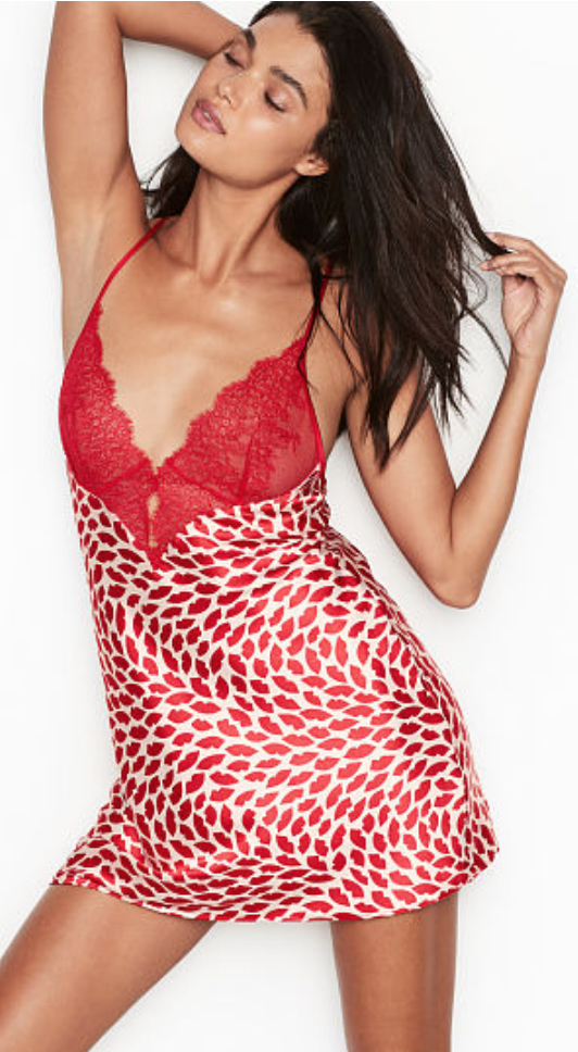 Chantilly Lace and Satin Slip by Victoria's Secret $49.50