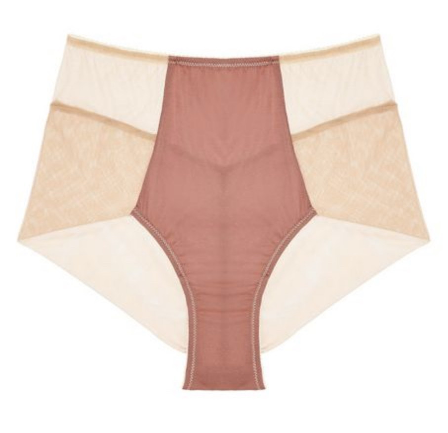 Luna Long Line Bra and Knickers by Journelle $172
