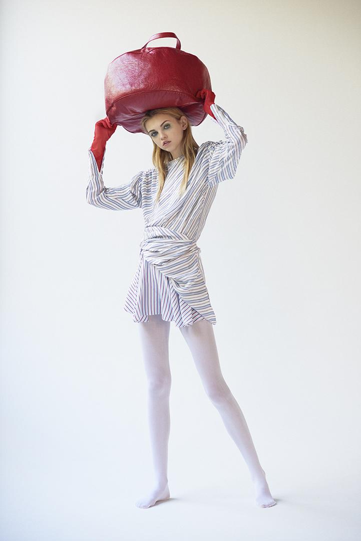Molly Bair  for Numero Tokyo styled by Zara Mirkin hair by Lizzie Arneson make up by Allie Smith
