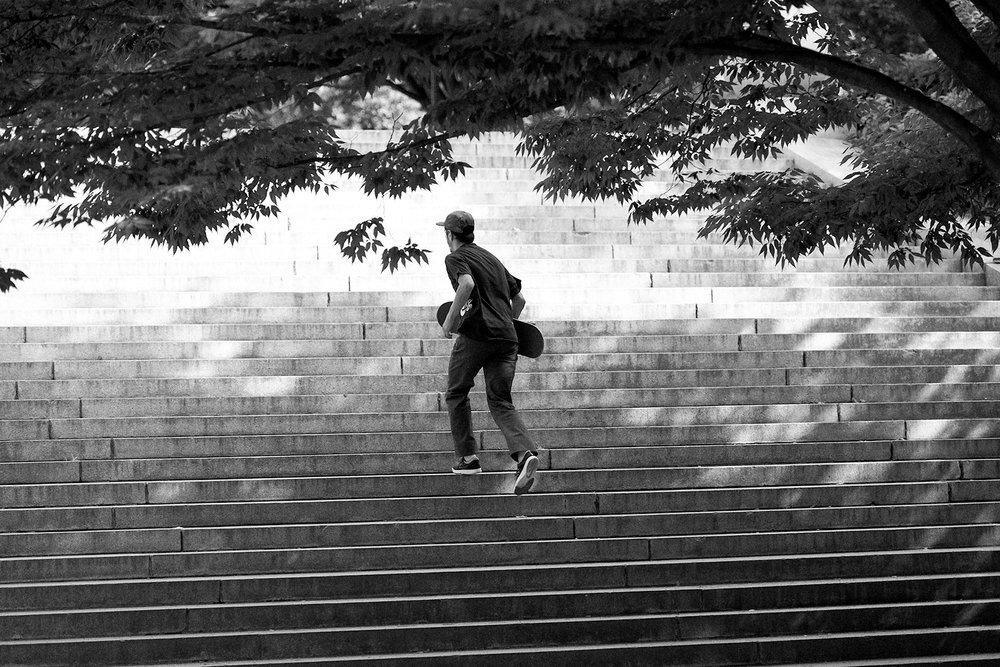 Nike Skateboarding featuring in order  of appearance : Daryl Angel Alex Olson Fernando Bramsmark Trevor Colden Daniel Shimizu Donovon Piscopo Theotis Beasley Luan Oliveira  Paul Rodriguez