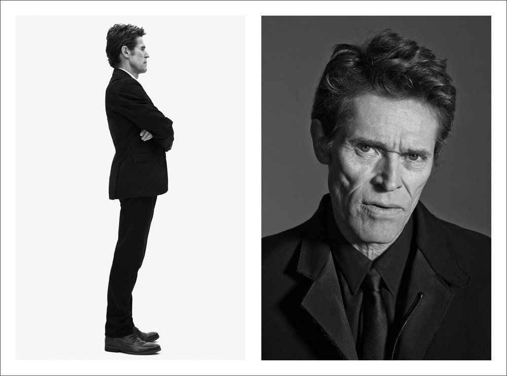 Willem Dafoe styled by  Chris Campbell grooming by  Amy Komorowski