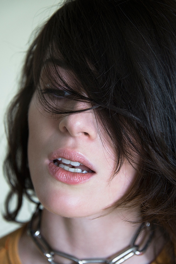 Stoya  for Oyster styled by  Zara Mirkin hair & make up  by Erin Green