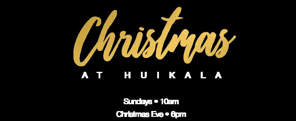 Christmas at Huikala