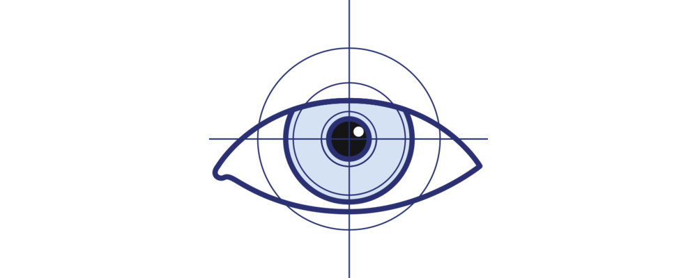 Laser Eye Surgery Icon by Brisbane Ophthalmologist Dr David Gunn.