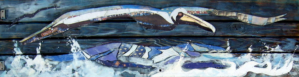 """""""Pelican Can"""" 62.5x17"""" SOLD"""