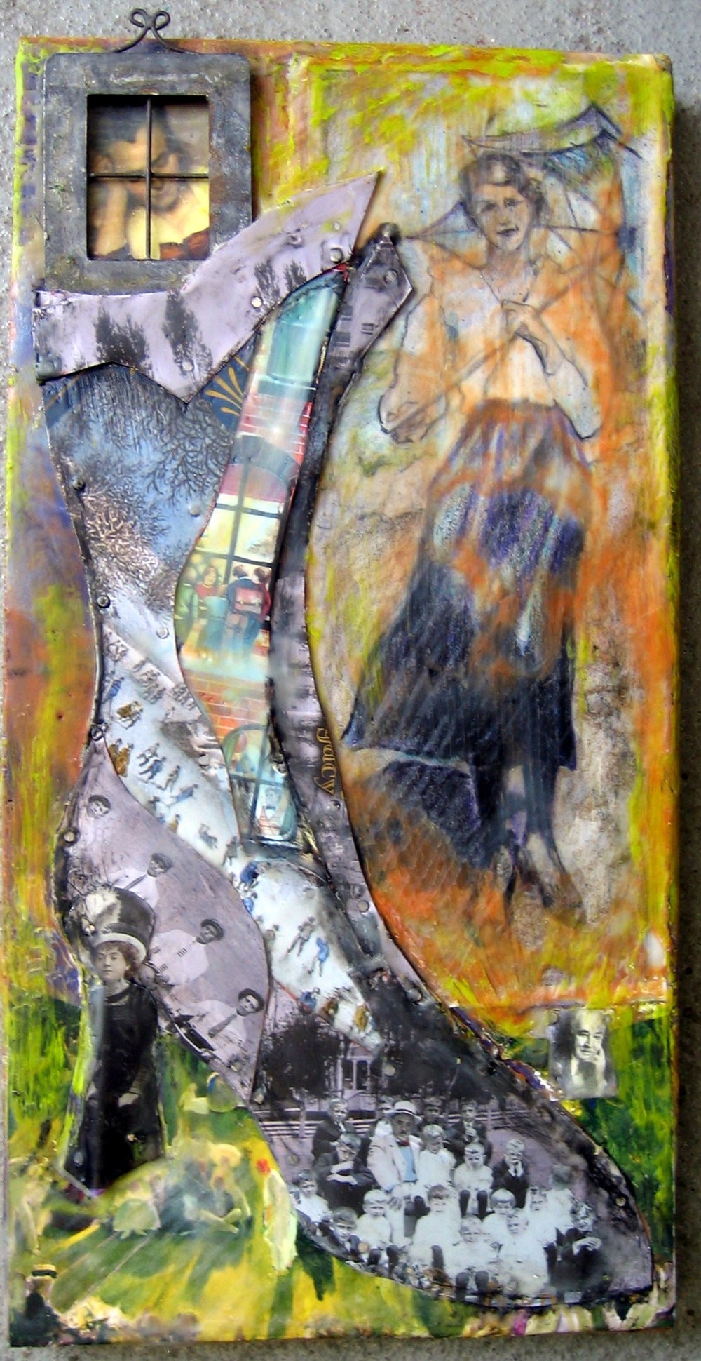 """Grandma's Shoe"" 7.5x12"" SOLD"