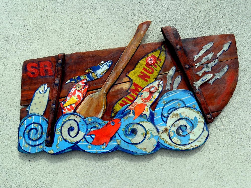 """""""Cannery Row"""" 24x38"""" SOLD"""