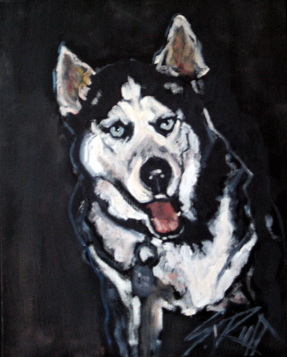 """Dakota"" 12x18"" Encaustic On Canvas SOLD"