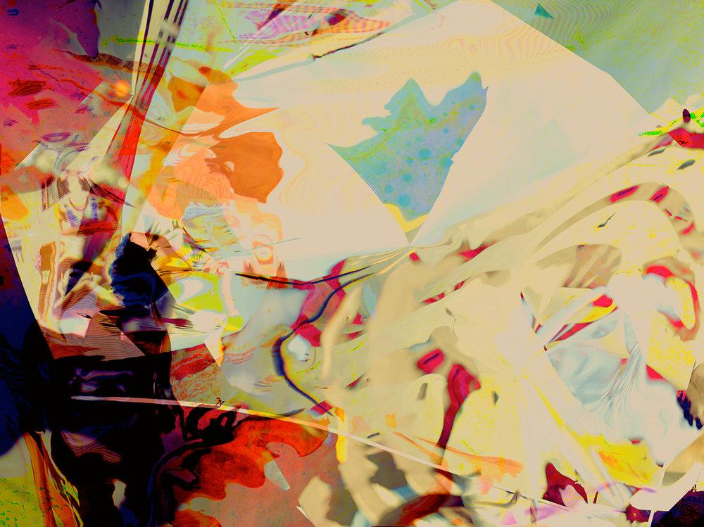 Elias Wessel  Hinter den Dingen 2 , 2017  Color Photograph  Original: 180 x 240.3 cm