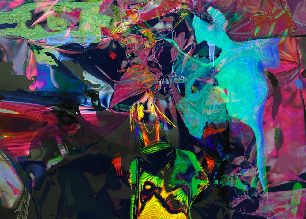 Elias Wessel  Hinter den Dingen 1 , 2017  Color Photograph  Original: 180 x 251.4 cm