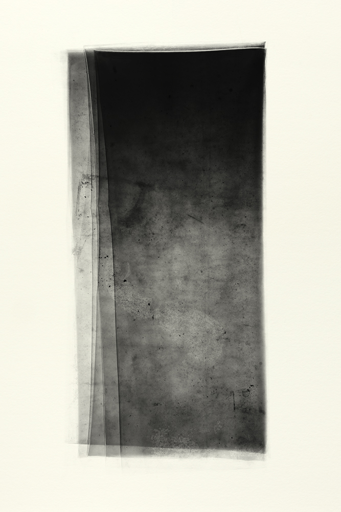 Elias Wessel   Sprung in die Zeit, No. 9 , 2014  B/W Photograph  Original: 152,4 x 101,6 cm