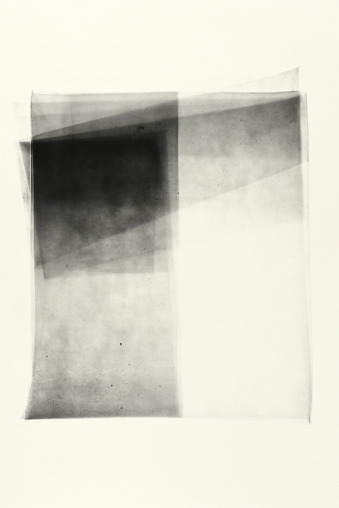 Elias Wessel   Sprung in die Zeit, No. 10 , 2014  B/W Photograph  Original: 152,4 x 101,6 cm