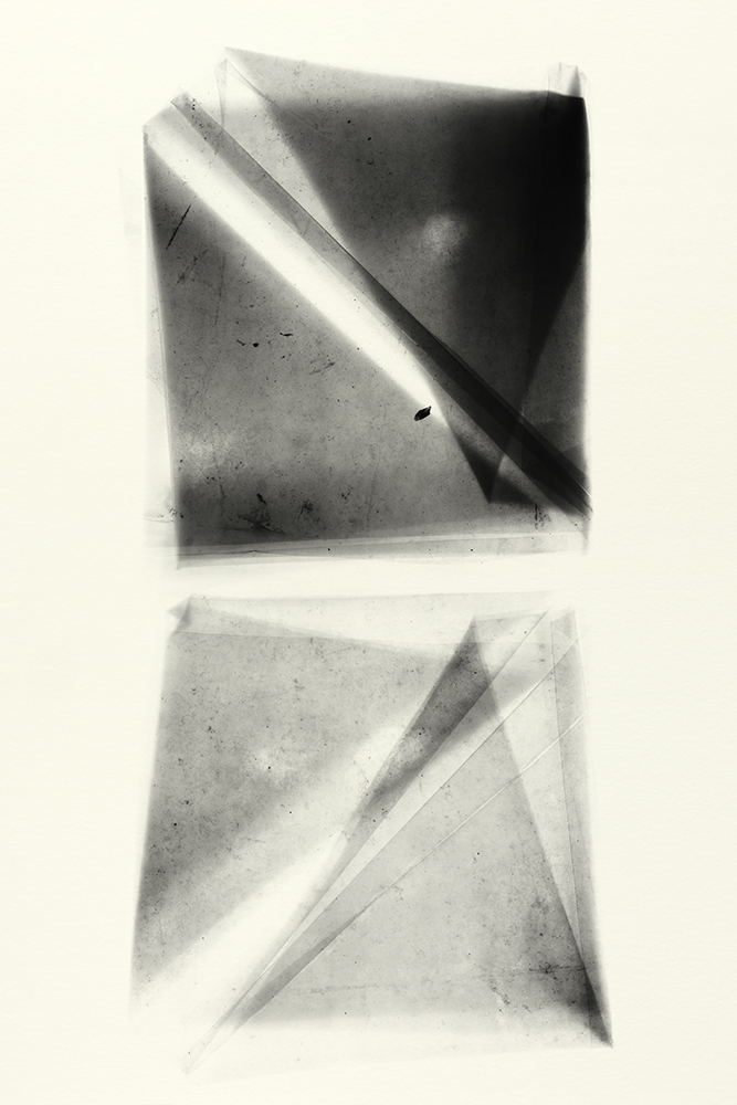 Elias Wessel   Sprung in die Zeit, No. 25 , 2014  B/W Photograph  Original: 152,4 x 101,6 cm