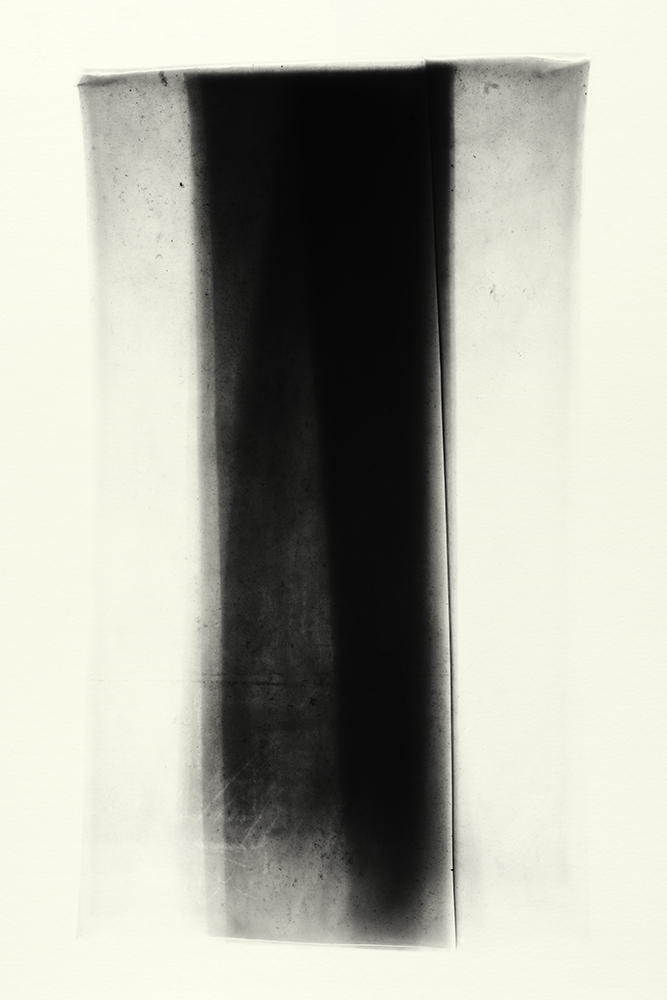 Elias Wessel   Sprung in die Zeit, No. 26 , 2014  B/W Photograph  Original: 152,4 x 101,6 cm