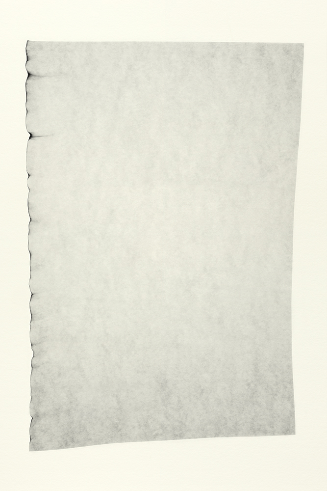 Elias Wessel   Sprung in die Zeit, No. 41 , 2014  B/W Photograph  Original: 152,4 x 101,6 cm