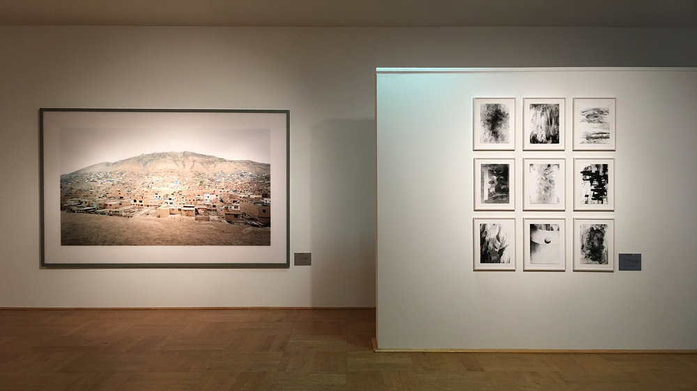 Installation View: NRW Forum Düsseldorf  Fotografie , withThomas Demand, Andreas Gursky, Axel Hütte, Thomas Ruff, Thomas Struth, Elias Wessel, a. o.), 2017  © Elias Wessel