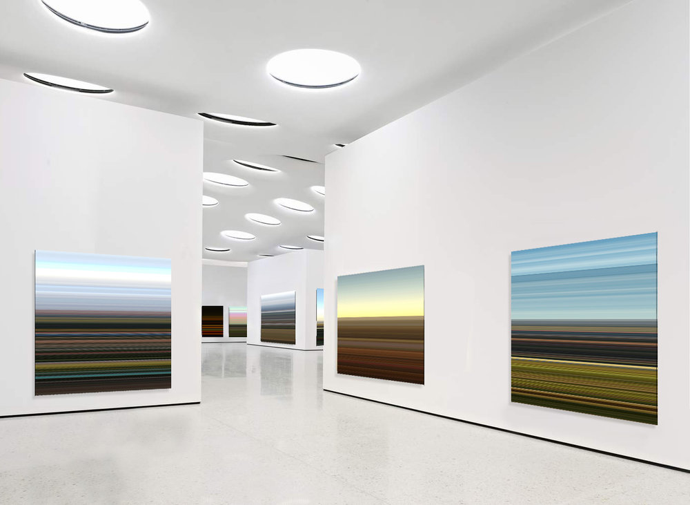 Installation View:  Private  Landscapes Series , 2014 © Elias Wessel