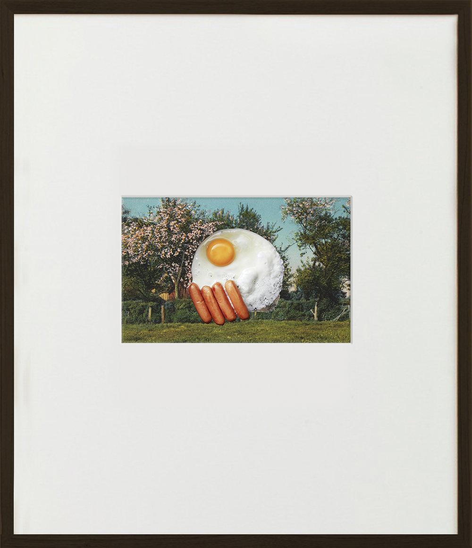 Elias Wessel  Sunnyside Up  (Vanitas), 2015  Color Photograph 70,5 x 60,6 cm (framed)