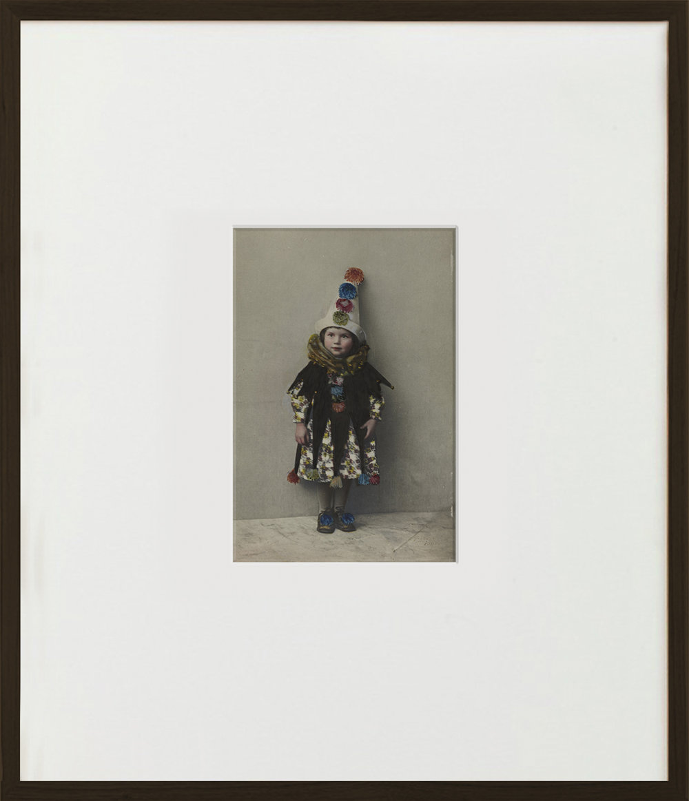 Elias Wessel  Lotte  (Vanitas), 2015  Aquarell and Pigment on B/W Photograph 70,5 x 60,6 cm (framed)