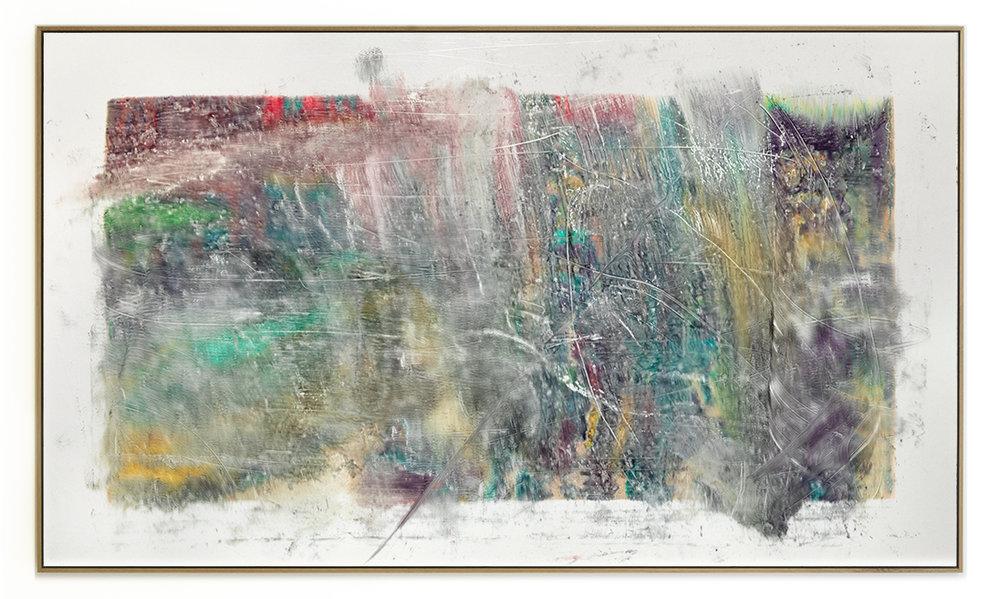 Elias Wessel Die  Freude am Rest – Zur Entmaterialisierung der Bilder, No. 2 , 2018 Photowork Original: 161 x 275,5 cm