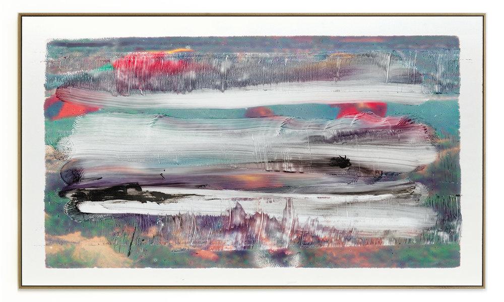 Elias Wessel Die  Freude am Rest – Zur Entmaterialisierung der Bilder, No. 6 , 2018 Photowork Original: 161 x 275,5 cm